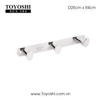 Móc MOV 3 Kích Thước: Dài 25cm, 3 móc 100% Inox 304